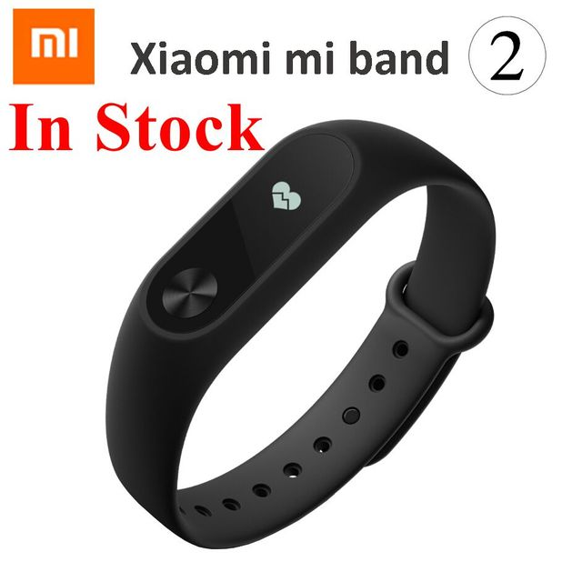 df771e534 Original Xiaomi Mi Band 2 MiBand 2 Wristband Bracelet Smart Heart Rate  Fitness Tracker OLED Display for Android/iOS Phone