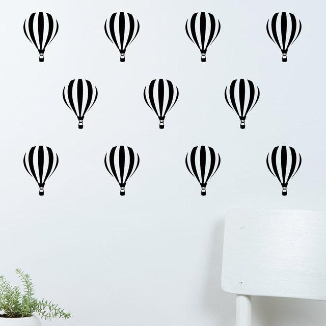 Wandtattoo hei luftballon wand muster aufkleber aufkleber 18 sets diy kids nursery schlafzimmer - Wandtattoo ballon ...