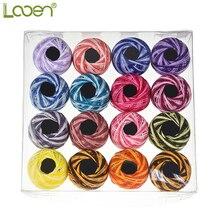 Looen Mix Цвет 16 шт./кор. швейные нити для вышивания швейные нитки ручная вышивка нити из полиэфирного волокна средство для шитья аксессуар