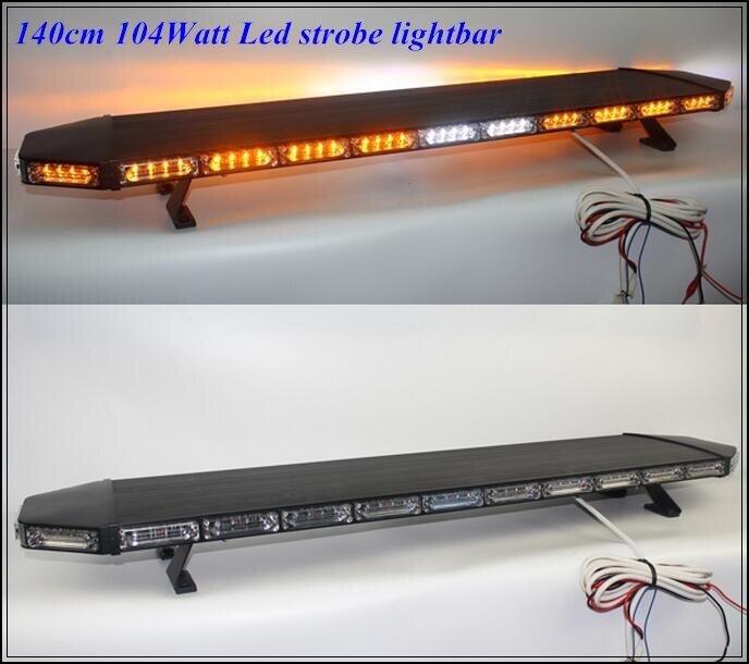 Higher star 140cm 104W LED-es autó / teherautó figyelmeztető - Autó világítás
