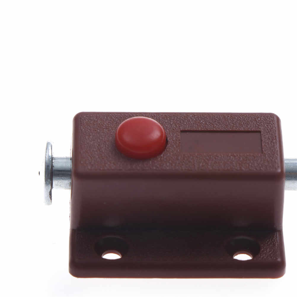 1 Pcs Latch Kunci Jempol untuk Jendela Pintu Kabinet Kotak Lemari Loker Rumah Baut Furniture DIY Peralatan