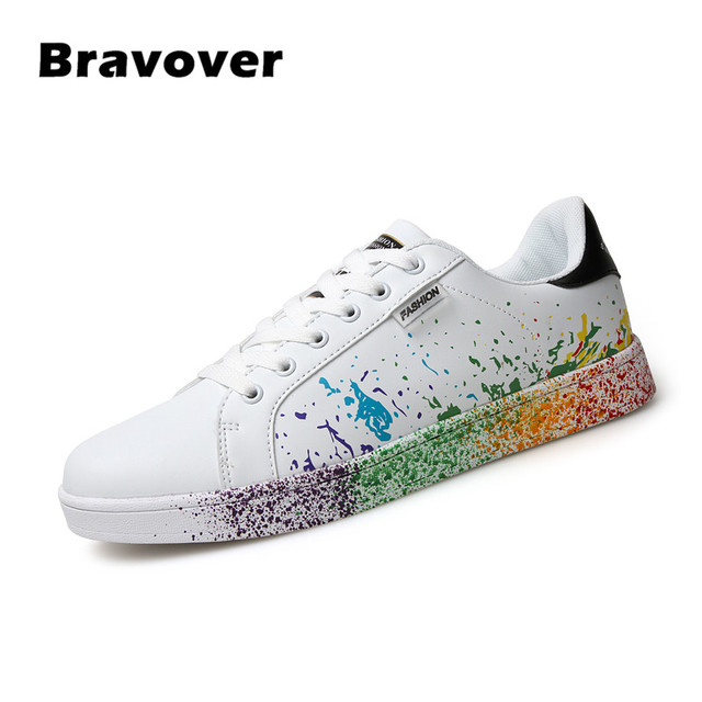 Unisex Fashion White Casual Cheap Shoes Mens Trainers Flats Valentine Shoes  Causal Shoes Zapatos Hombre Large