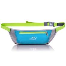 Men Women Waterproof Waist bag Pouch Belt Pack Bag for Sport Running Travel Hiking Fanny Mobile Phone Waistbag
