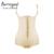 Burvogue 2017 caliente látex shaper clip & zip tranner de cintura que adelgaza la talladora fajas body shaper butt lifter underwear abertura entre las piernas