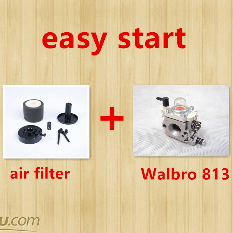 Walbro 813 high-performance carburetor contain air filter kit with damper easy start pwk high performance 38mm air striker