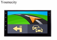 2G RAM Quad Core 2 Din Android 6 0 2din New Universal Car Radio Double Car