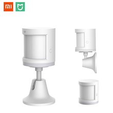 Original Xiao mi mi jia Body Sensor mi Motion Sensor ZigBee รุ่น Smart Home Linkage สำหรับ mi Home APP การเชื่อมต่อไร้สาย