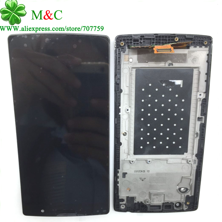 OEM Magna LCD Touch Panel For LG Magna H502F H500F H500R H500N Y90 LCD Display Touch Screen Digitizer With Frame Assembly