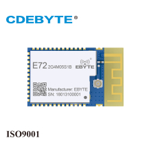 E72-2G4M05S TI2640 CC2640r2 CC2640 ble 4.2 Bluetooth Module Low Power Consumption Circuit Board for iBeacon Electronic Component 10 sets dialog 14580 wristband beacon bluetooth 4 0 programmable ibeacon hardware