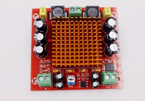 Image 3 - DC 12V 24V 150W TPA3116DA моно канальный цифровой усилитель мощности аудио Плата