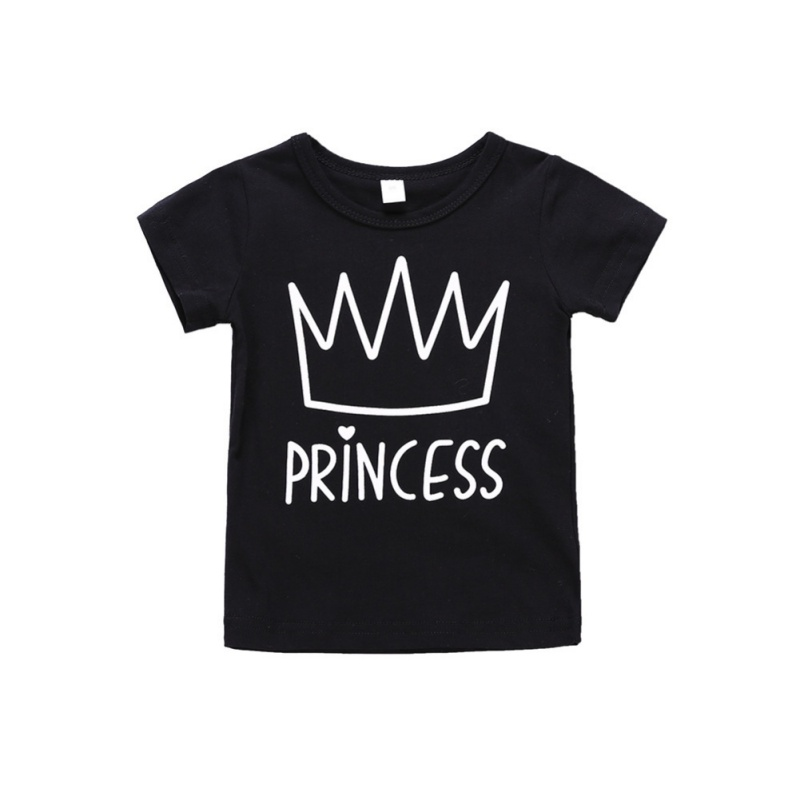 Stylowa i modna dziewczynka ustawia Czarną koszulkę z krótkim - Ubrania dziecięce - Zdjęcie 2
