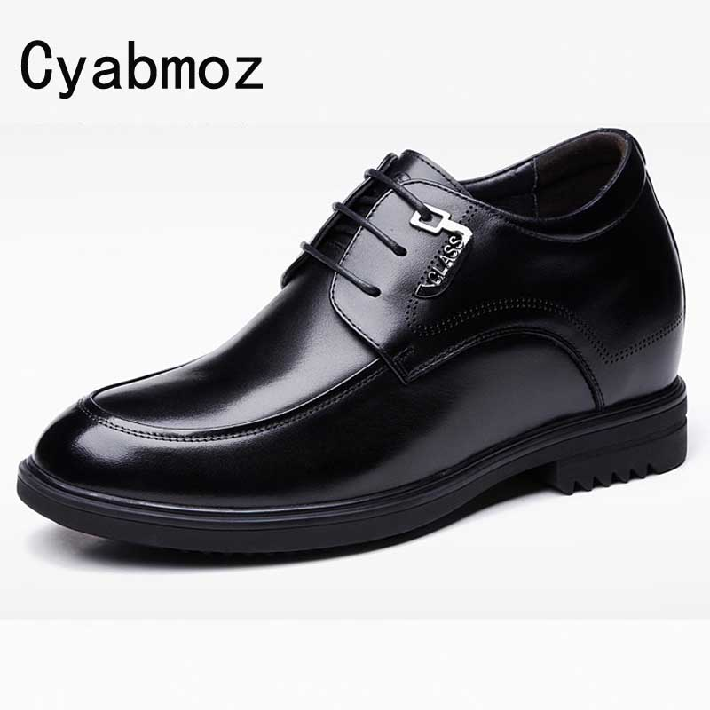 Man Genuine Leather Height Elevator Wedding Shoes with Hidden Insert Get Taller 10cm/3.9 Inches for Men Oxfords Casual Shoes владимир дэс судьба писателя