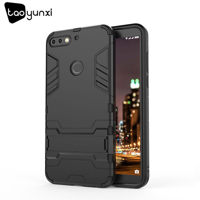 TAOYUNXI Hybrid Kickstand Cases For Huawei Y6 Prime 2018 case For Huawei Honor 7A Pro Honor 7A High Edition honor 7C RU Version