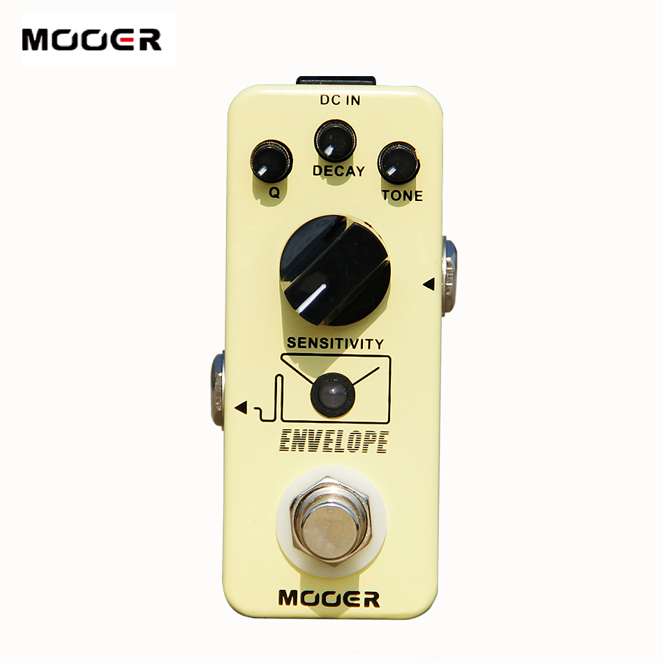 MOOER micro series envelope analog auto  Wah Pedal high-quality electronic components Guitar effect pedal new effect pedal mooer envelope auto wah filter dynamic auto wah pedal with big tone and lots of versatility