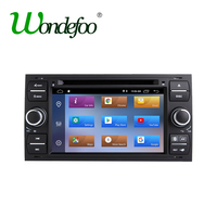 IPS Android 8.1 2G 2 DIN Car DVD PLAYER For Ford Mondeo S max Focus C MAX Galaxy Fiesta transit Fusion Connect kuga GPS RADIO PC