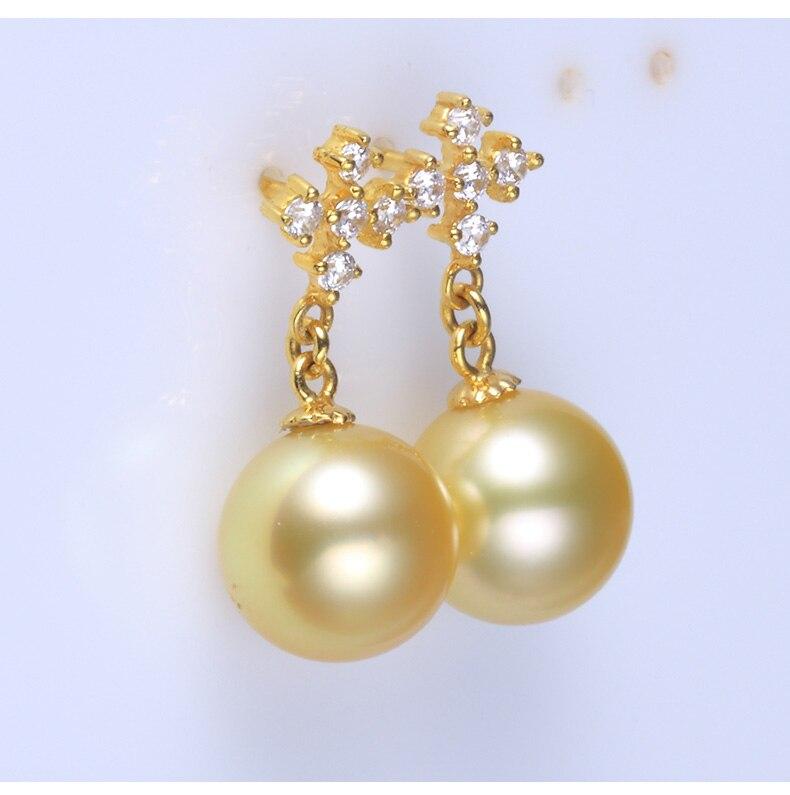 gold pearl earrings jewelry 100