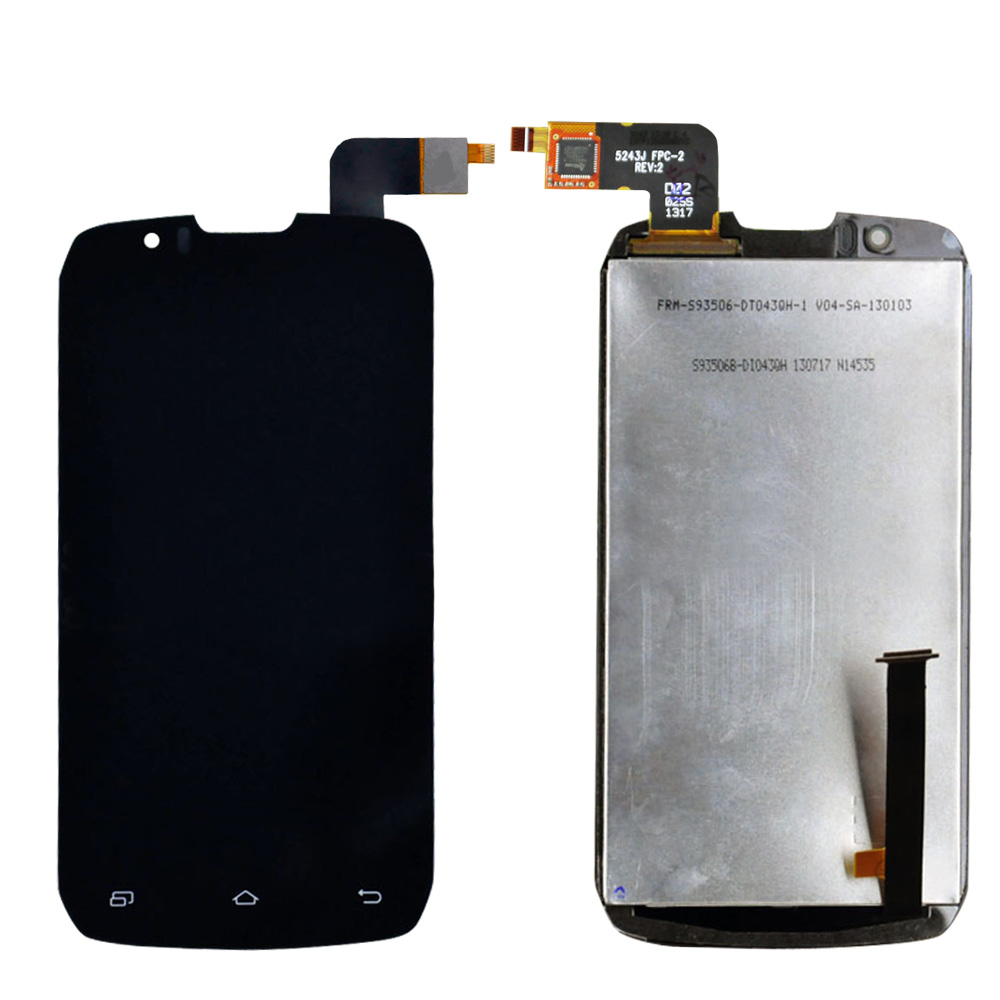 In Stock Original Black for INNOS D9 D9C LCD Display And Touch Screen Assembly For INNOS D9 D9C Free Shipping