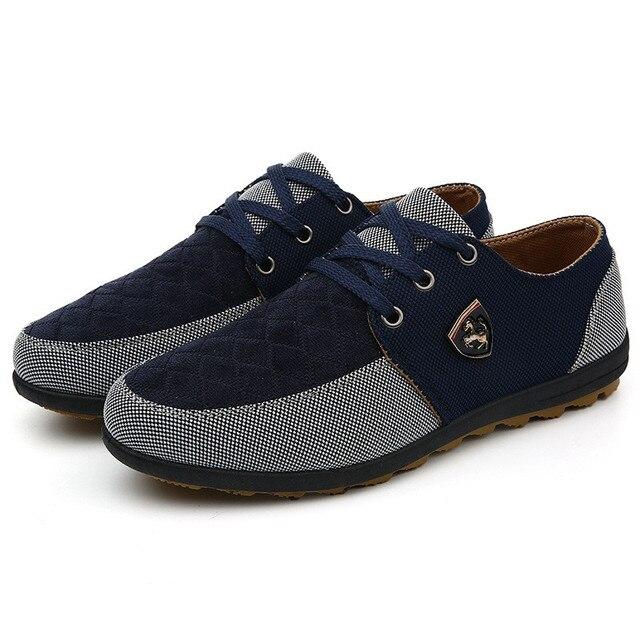 2016 mens Casual Shoes mens canvas shoes for men shoes men fashion Flats brand fashion Zapatos de hombre 7