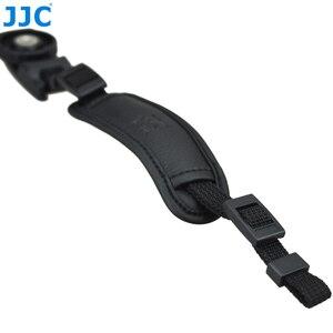 Image 5 - JJC skórzany pasek na rękę DSLR pasek w stylu vintage lustra uchwyt do aparatu na rękę szybki montaż dla NIKON D80 D300 D5200 i aparaty systemowe CANON EOS 450D