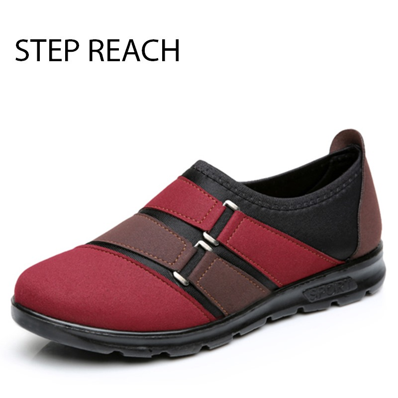 STEPREACH Brand shoes woman casual women canvas shoes all match fashion colorant flat Breathable sapato feminino