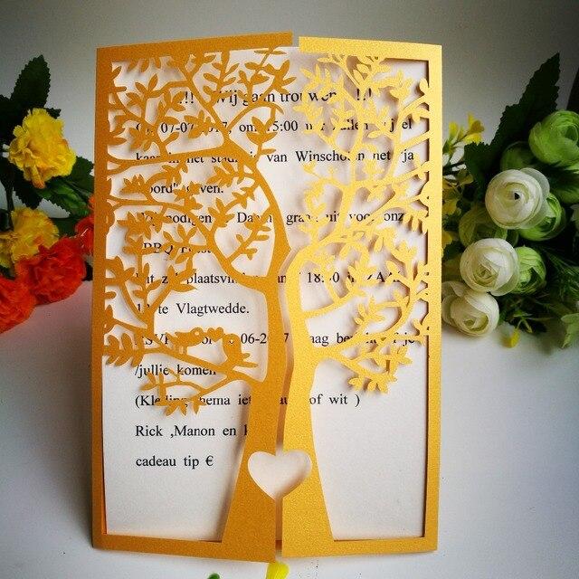Biglietto Auguri Matrimonio Pop Up : 50 pz carta inviti di nozze carte di biglietto di auguri di