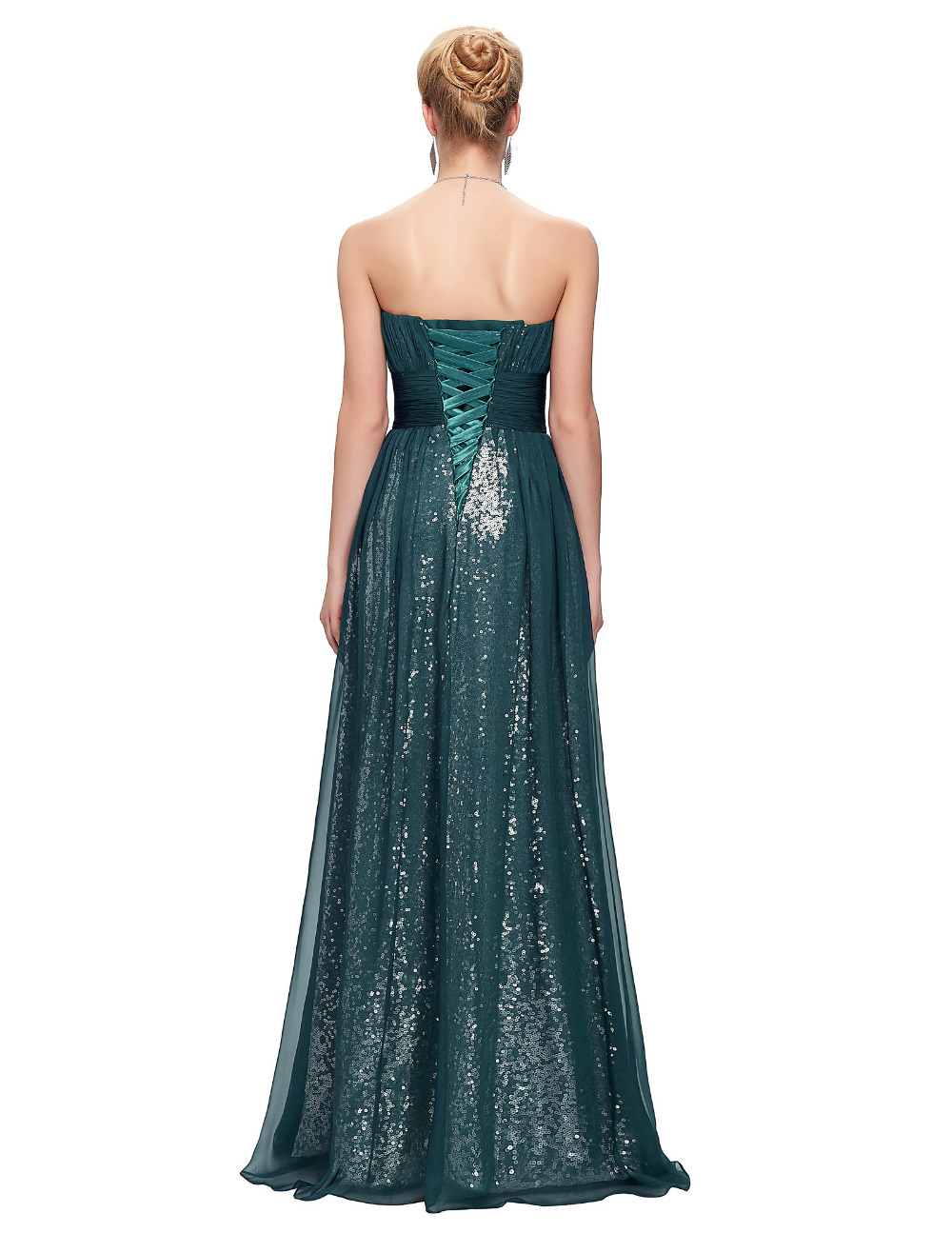 Floor Length Prom Dresses 2017 Blue Purple Green Chiffon Sequins Formal  Evening Gowns Dresses Sweetheart Long Prom Dress 6005-in Prom Dresses from  Weddings ... be3e8aeddba3