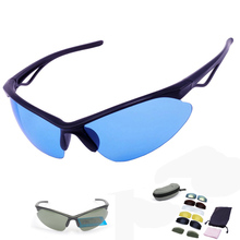With 7 Lens 2017 Men Women Polarized Cycling Glasses UV400 Outdoor Sports Windproof Eyewear Mountain Bike