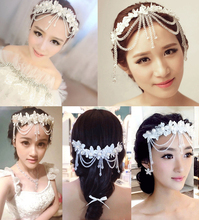 wedding accessories stunning crystal pearls beading bridal hats hand made hair bride hat halloween
