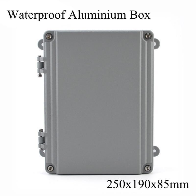 FA15-3 250x190x85mm en aluminium Waterporrf boîtier scellé projet électrique boîtier de jonction boîtier de Distribution 250*190*85mm