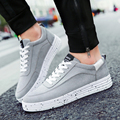 Spring New 2017 Mens Shoes Casual Flat Skate Shoes Faux Suede Leather Men'S Sports Shoes Students Sneakers Men O2278