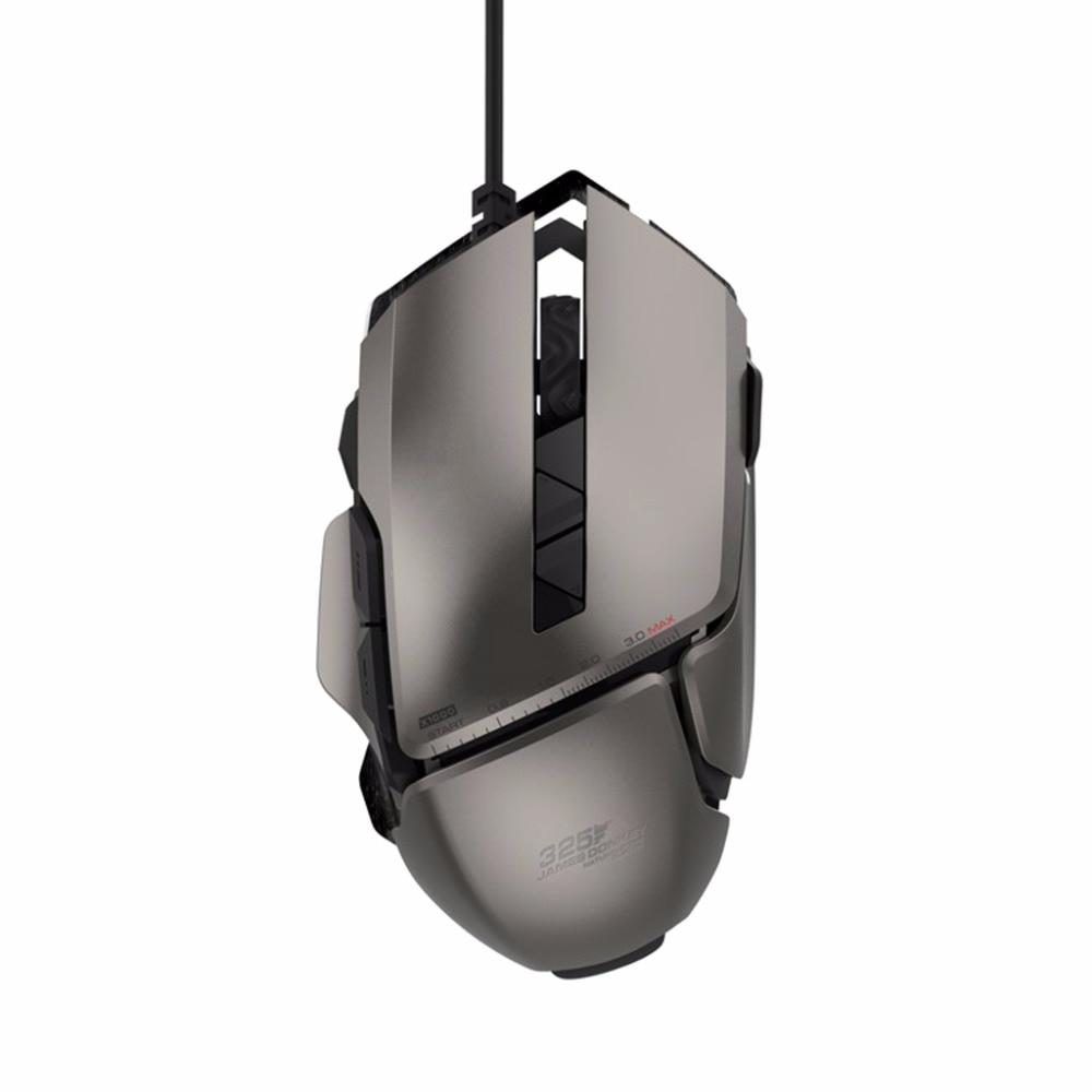 Professionnel USB Filaire Souris Optique de Jeu 7200 dpi Réglable 7 Boutons Gaming Mouse Pour PC Portable De Bureau C26