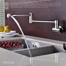 Блаватская холодной только вода Кухня кран латунный хромированный кран раковины одной ручкой на одно отверстие Смеситель Воды HP9105