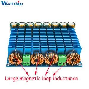 Image 1 - XH M252 AC 24 в 2x420 Вт стерео TDA8954TH двойной чип класса D цифровое аудио hi fi усилитель плата модуль сверхмощный BTL режим