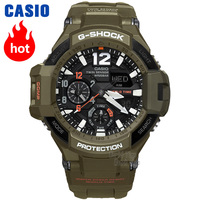 Часы Casio G SHOCK Мужские кварцевые спортивные часы авиационной серии многофункциональные наружные водонепроницаемые g shock Watch GA 1100