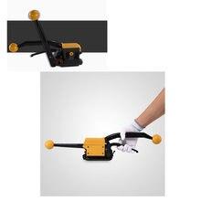 Портативный стальной инструмент для обвязки без пряжки комбинированный