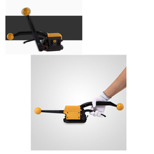 цена на Portable Buckle-free Steel Strapping Tool Sealless Combination A333 Steel Strap Tool Manual Box Strapping Machine 1/2-3/4