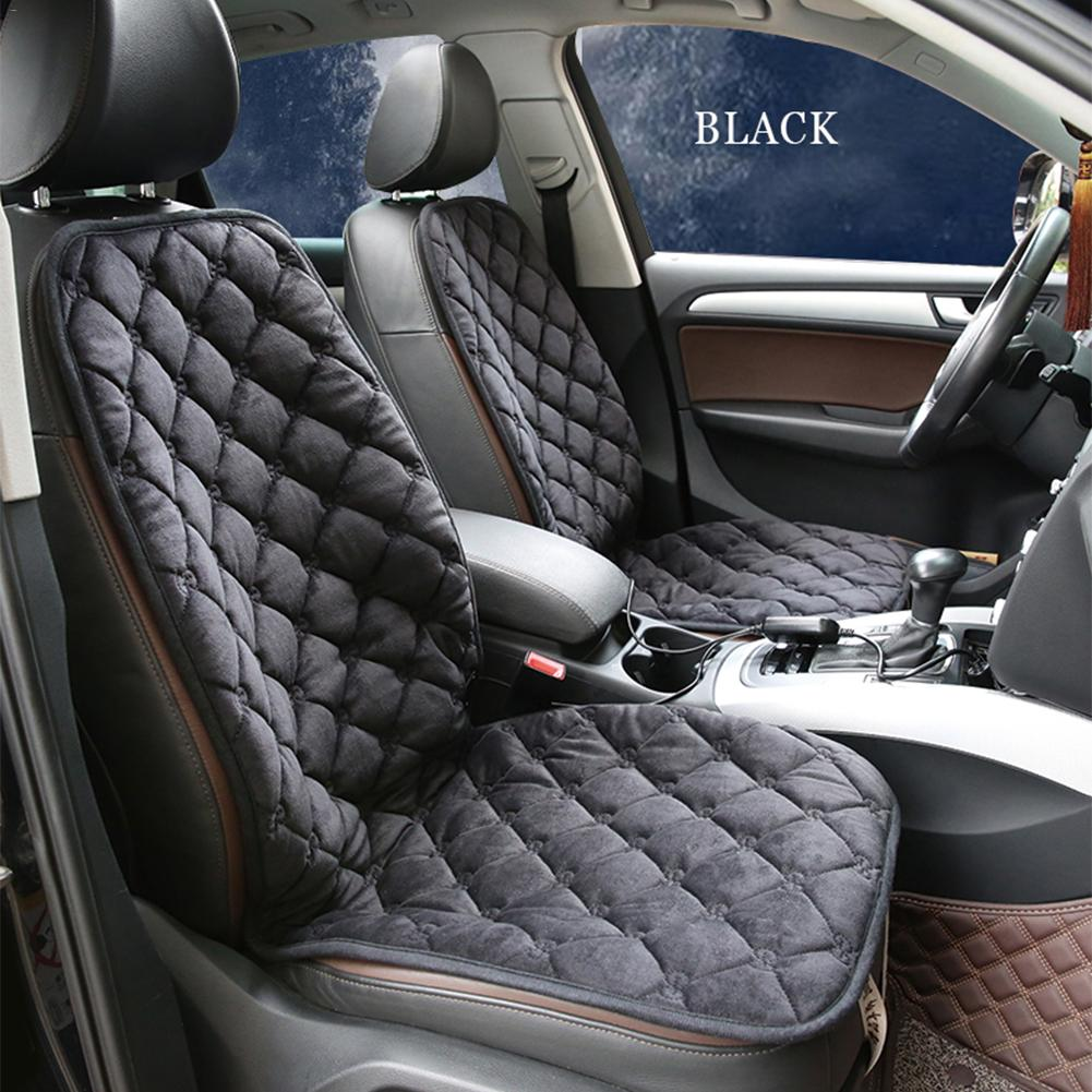Carbon Fiber Universal Heated Seat Heater Kit Car Cushion: Universal DC 12V Car Seat Cushion Cover Seat Carbon Fiber