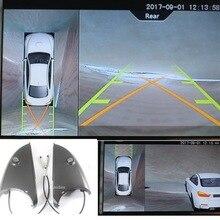 Для Volvo V60, S60, XC60 surround view 360 градусов Bird eye 4 way камера панорамная парковка DVR система 1080P