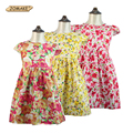 Girl Dress 2017 Summer Style Floral Sleeveless Beach Sundress Toddler Girls Princess Dress Baby Kids Clothes Children Clothing