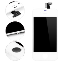 10PCS/Lot Replacement Phone Parts Lcd Screen Assembly For iPhone 4s 4 LCD Display Black & White