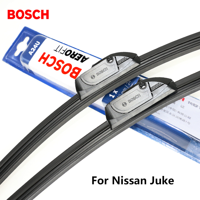 2pieces/set BOSCH Wiper Blades for Nissan Juke 22&14 Fit Hook Arms 2010 2011 2012 2013 2014 2015 2016 2017