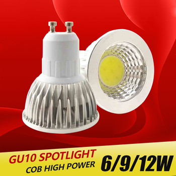 Super bright spotlight LED Lamp Spotlight 3W 4W 5W Bombillas High quality GU10 Spot light Lampada Bulb 220V