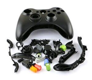 Image 5 - Ocgame用xbox360有線コントローラハウジングシェルクロスボタン全体ハウジングカバーケース用xbox 360のジョイスティック黒と白