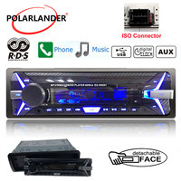 12V Bluetooth auto Radio FM/USB/SD/AUX IN MP3 player Car Electronic vehicle Audio Stereo Single Din handsfree folder play