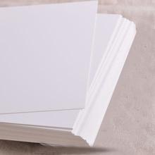 20 piezas tarjeta de felicitación en blanco papel Kraft postal Vintage tarjetas postales en blanco DIY pintado a mano Tarjeta de mensaje PAK55