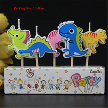 dinosaur birthday candle kids children baby boy decoration cake decorating supplies party
