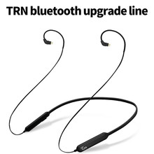 New TRN BT3 wireless Bluetooth with wheat 4.1 APT-X IPX7 waterproof cable HIFI headphone MMCX / 2Pin / IE80 for V10 V20 V80(China)