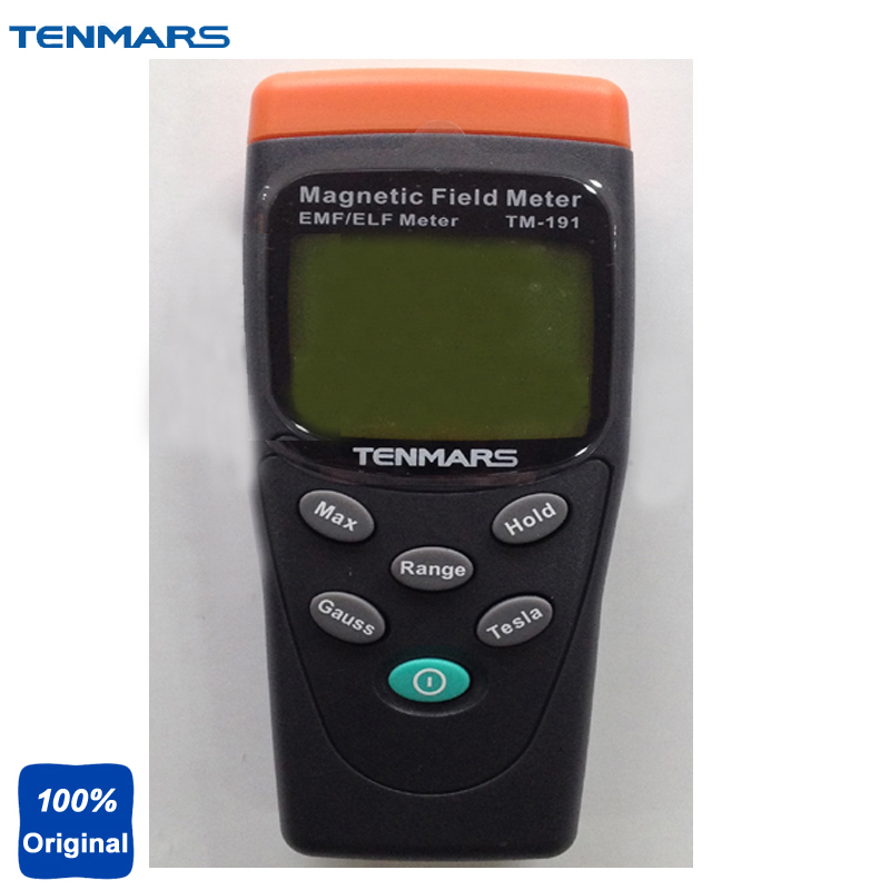 EMF Meter Electromagnetic Magnetic Field Tester Extremely Low Frequency(ELF) of 30 to 300Hz.TM-191