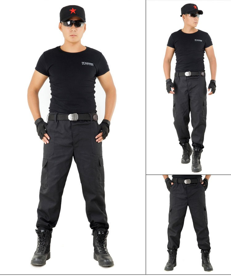 Men\'s Cargo Pants Scratch-resistant Military Clothing Tactical Pants 2016 Outdoor Army Style Workwear Trousers Sports Sweatpants (3)
