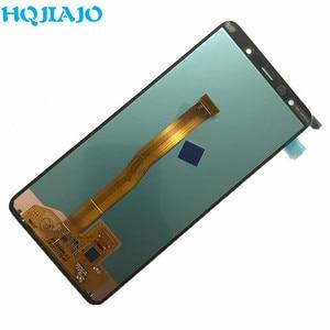 Image 4 - ЖК дисплей 6,0 для Samsung A750, сенсорный экран с дигитайзером для Samsung Galaxy A7 2018 A750 A750F SM A750F A750FN, оригинал